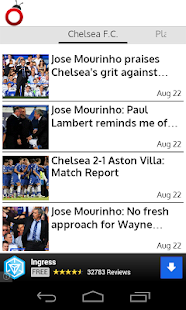 Chelsea FC News - screenshot thumbnail