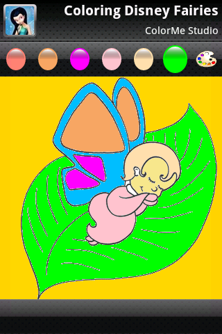 Coloring: Fairies