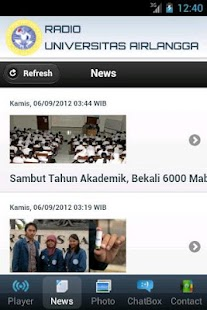 Radio UNAIR- screenshot thumbnail