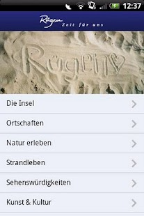 Rügen-App - screenshot thumbnail