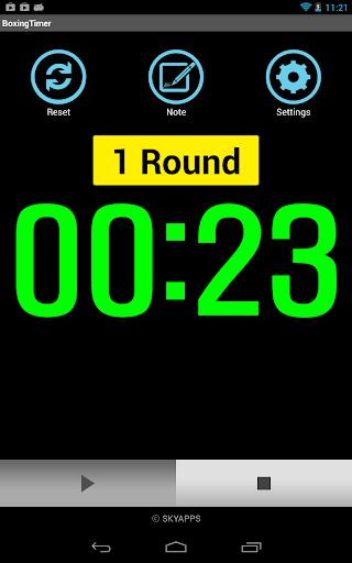 Boxing Timer (Training Timer) 5.4.8 screenshots 14