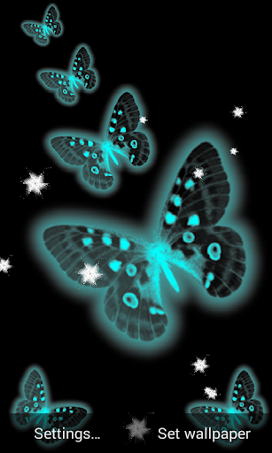 S6 Live Wallpaper Butterfly