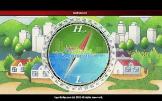 Screenshot of high ground compass free