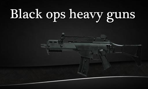 Black Ops Ghost Heavy Guns