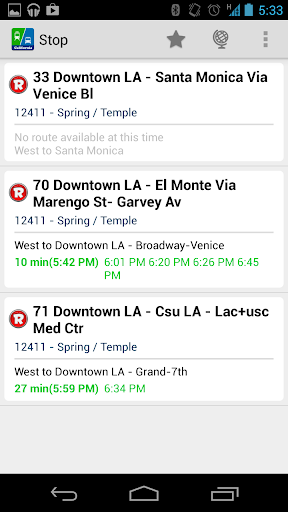 Live Bus Schedule - California  screenshots 5