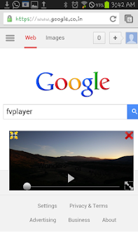 FVPlayer-floating video player