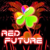 GO Launcher EX Theme Red Futur