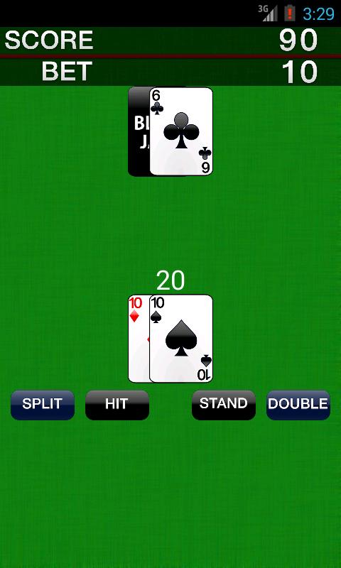 Rules playing blackjack card game