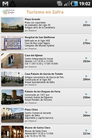 Turismo Zafra- screenshot