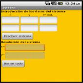 Sistema 2x2