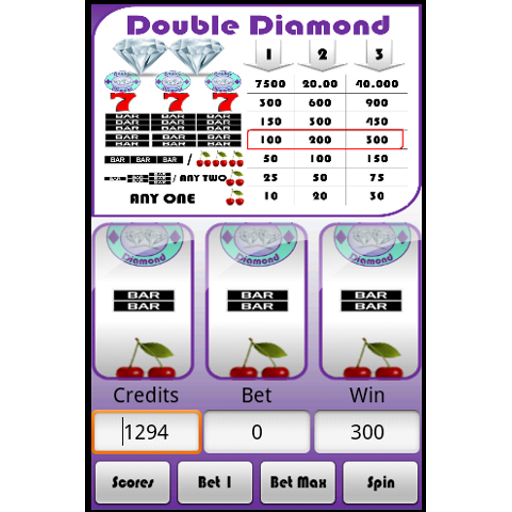 Slot Machine  Double Diamond