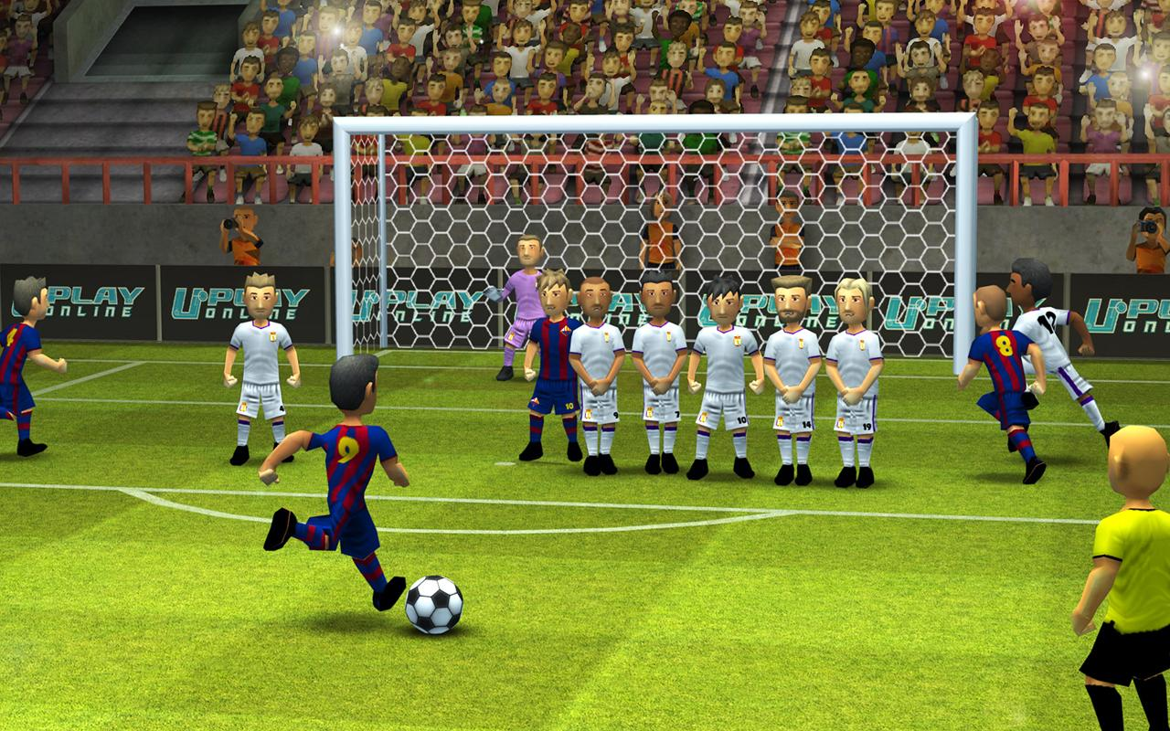 Download best football or soccer games for android in 2014 - Striker Soccer 2 Screenshot