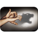 Hand-shadow icon