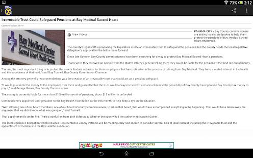 WJHG News - screenshot thumbnail