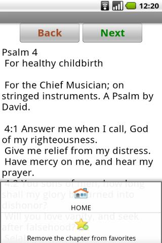Tehillim (English)- screenshot