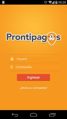 Prontipagos - screenshot