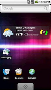 Weather Seeker Widget - screenshot thumbnail