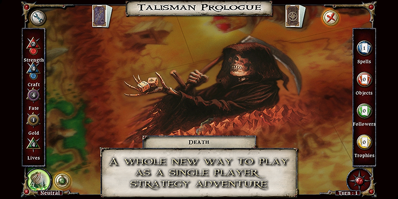 Talisman Prologue - screenshot