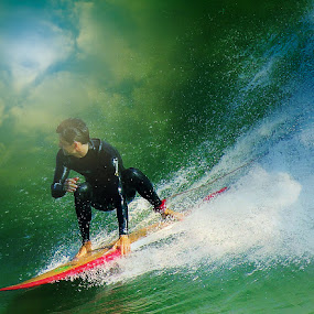THE SKIES THE LIMIT by Dominick Darrigo - Sports & Fitness Surfing