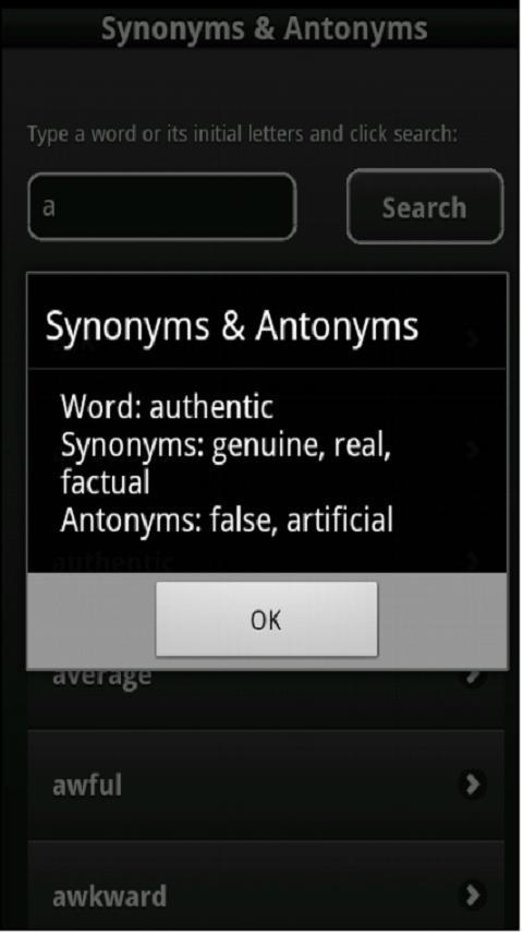 Antithesis antonym