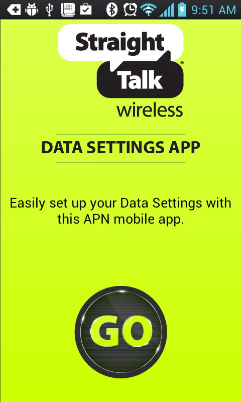 Straight talk apn Settings – Choose your service provider: To start with, there are two Official versions of the Straight talk apn settings, one for those using Straight Talk AT&T service and another for those folks on the Straight Talk T-Mobile service: So please locate the settings that correspond to your provider.