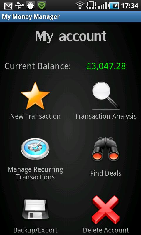 My Money Manager - screenshot