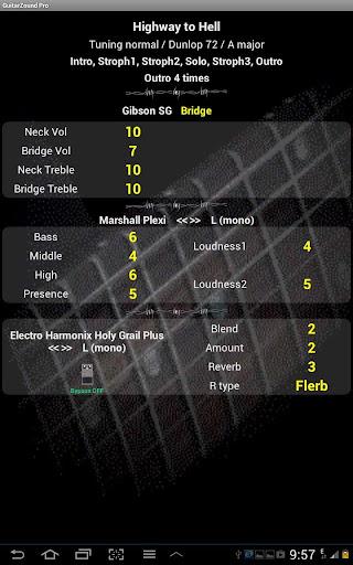 Guitar Zound - set list -TRIAL