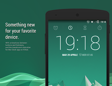 Atomic Green CM11 CM12 Theme v2.05