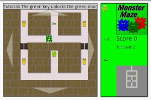 Screenshot of Monster Maze