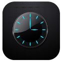 Clock and weather icon
