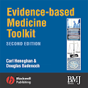 Evidence-Based Medicine Tool. icon