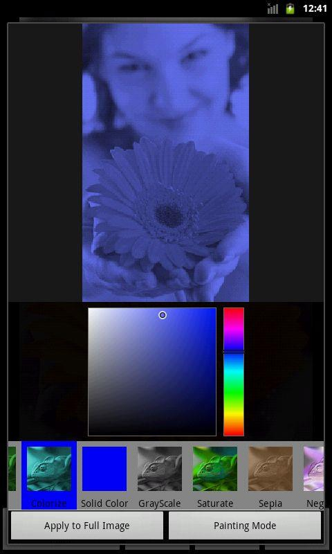 Photo Art - Color Effects- screenshot