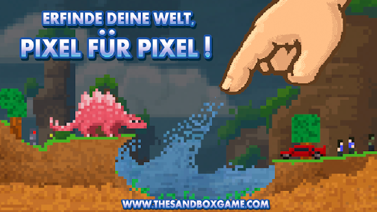 The Sandbox Craft Play Share Apps Bei Google Play - Minecraft pixel spiele