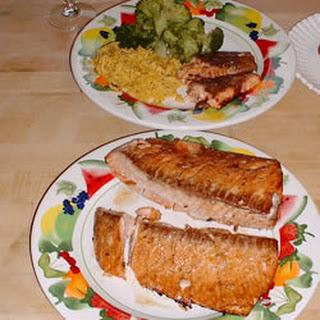 Salmon Marinade.