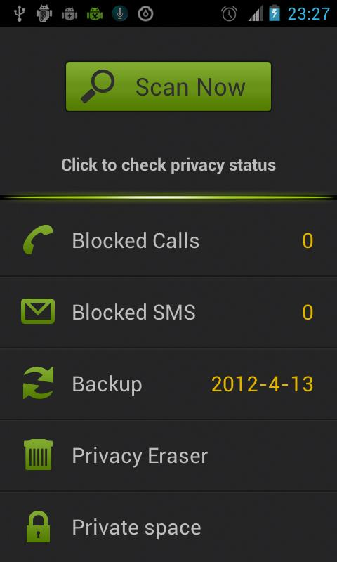 Privacy Safe - Call Blocker - screenshot