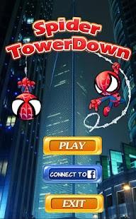 spider tower down