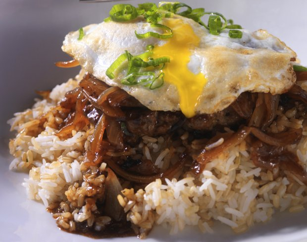 Caramelized Onion and Beef Loco Moco Recipe