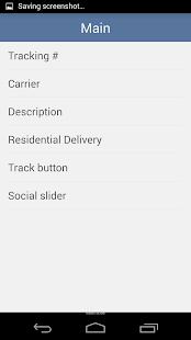 EasyTrack Package Tracking App- screenshot thumbnail