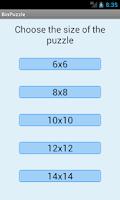 Screenshot of Binary Puzzle Solver Lite