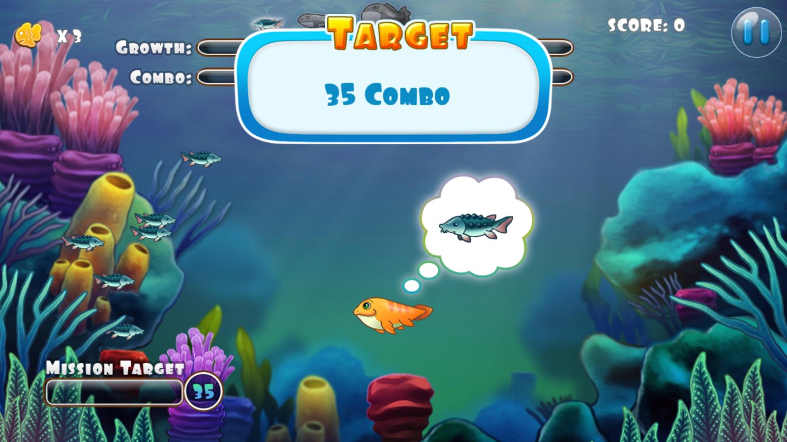 Fish for aquarium games - Coco The Fish Cute Fish Game Screenshot