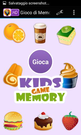 Gioco di Memoria per i Bambini