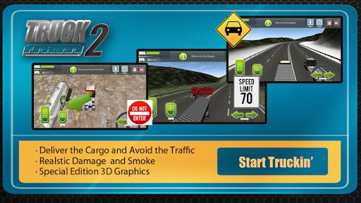 Игра Truck Driver Highway Race 3D+ для планшетов на Android