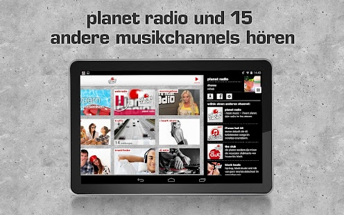 planet radio- screenshot thumbnail