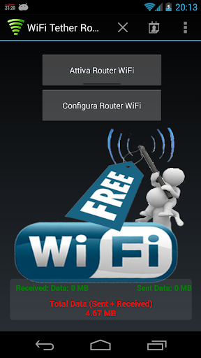 PC u7528 WiFi Tether Router 1