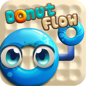 Donut Flow Saga - play a casual & cute themed logic puzzler