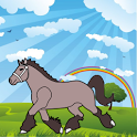 Coloring Book: Horses! icon