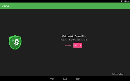 GreenBits Bitcoin Wallet for Android apk 8