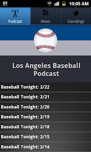 Los Angeles (LAD) Baseball - screenshot thumbnail