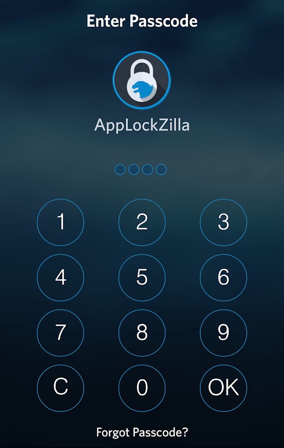 AppLock Zilla: Smart Protector- screenshot