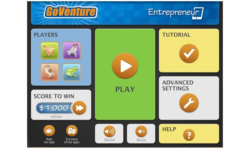 GoVenture Entrepreneur - screenshot